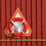 Life buoy / Life Preserver / Life ring / Life belt — Stockfoto
