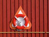 Life buoy / Life Preserver / Life ring / Life belt — Stock Photo