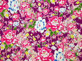 Classical Fabric with floral Pattern background — Photo