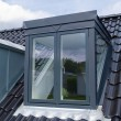 Photo: Modern vertical roof window