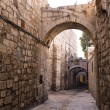 Israel - Jerusalem Old City Alley — Stockfoto #8755909