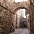 Stock Photo: Israel - Jerusalem Old City Alley
