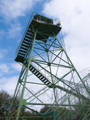 Fire guard prison watch tower — Stock Photo
