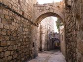 Israël - jeruzalem oude stad alley — Stockfoto