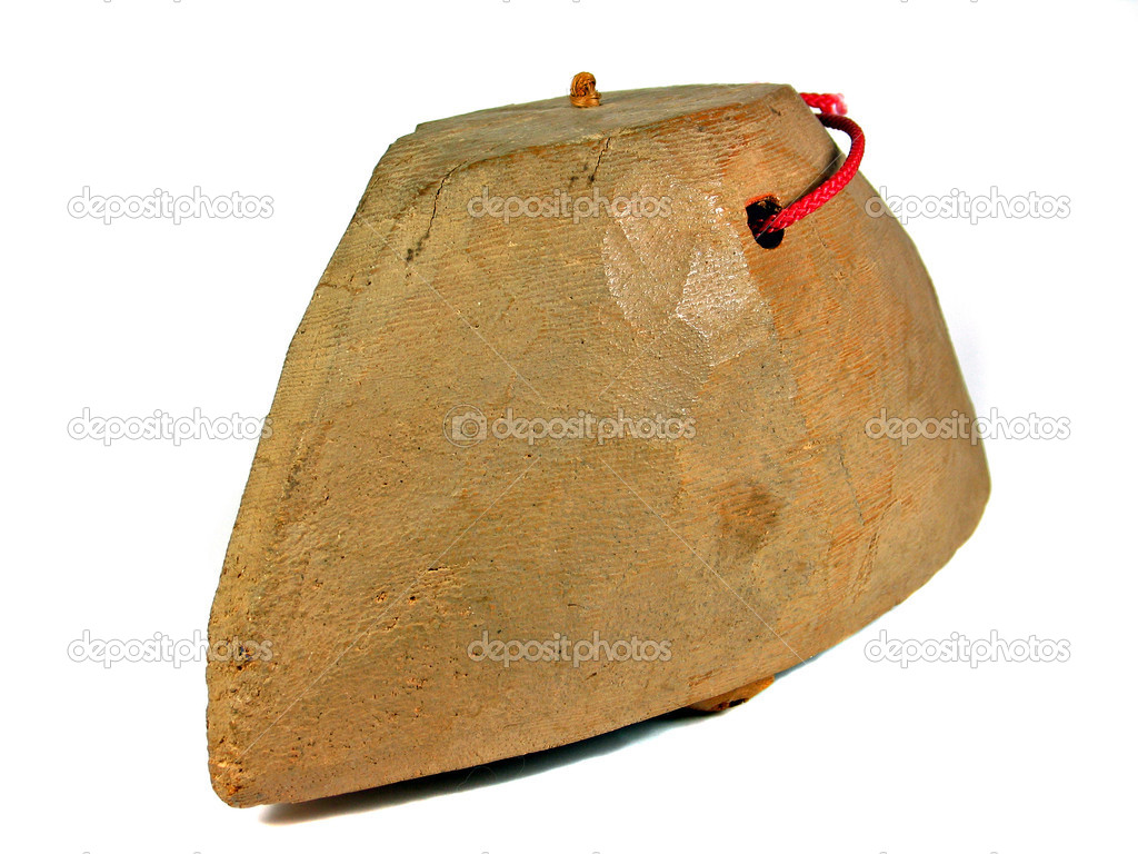 la cloche en bois africain isol 233 photographie ronyzmbow 169 8763416