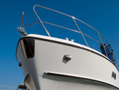 Dziób jachtu — Zdjęcie stockowe
