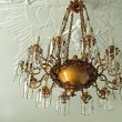 Beautiful Crystal Chandelier — Stock Photo