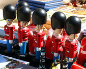 Traditional Danish toy soldiers — Foto de Stock