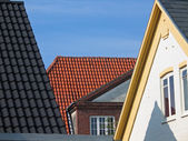Roofs with tiles — Stock Photo