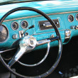 Stock Photo: Old classic car dashboard
