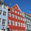 Copenhagen - typical houses — Stock Photo