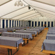 Inside party tent — Stockfoto #8934320