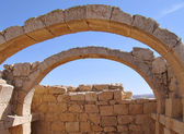 łuki w pustynnym starożytne miasto — Zdjęcie stockowe