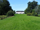 Country farm mansion house Denmark — Stock Photo