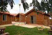 木製の夏の家 — ストック写真