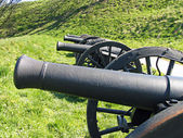 Old Medieval cannons — Stock Photo
