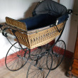 Old fashioned baby stroller — Stock Photo #8952692