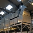 Industrial factory plant HVAC ventilation — Stockfoto #8964417