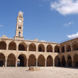 Akko Acre Israel Khan Al-Umdan Ottoman tower — Stock Photo