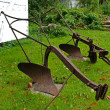 Royalty-Free Stock Photo: Old rusty plow plough