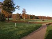 Beautiful golf park course — Stock Photo