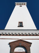 Lighthouse in Helnaes Denmark — Stockfoto