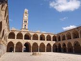 Akko Acre Israel Khan Al-Umdan Ottoman tower — Stock Photo