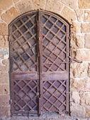 Porta di ferro vecchio — Foto Stock