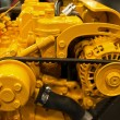 Details of an engine motor — Stock Photo