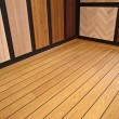 Stock Photo: Display of hardwood parquet floors