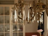 Beautiful Crystal Classical Chandelier — Stock Photo