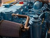 Transportation engine motor background — Stock Photo