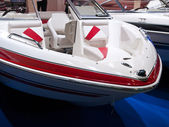 člun motorový člun — Stock fotografie