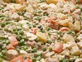Typical Traditional German Potato Salad — Stock Photo