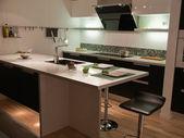 Moderne trend design keuken — Stockfoto