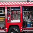 Royalty-Free Stock Photo: Rescue fire truck equipment