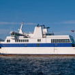 Medium size Ferry Boat — Stock Photo