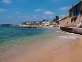 Attractive beach resort — Stock Photo