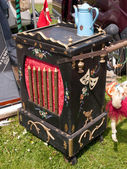 Street organ box barrel — Стоковое фото