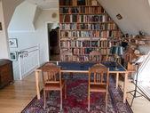 Studie kamer kantoor aan huis — Stockfoto