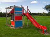 Modern design colorful playground — Stock Photo