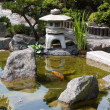 Stock Photo: Details of Japanese garden