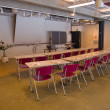 Conference meeting room auditorium — Stock Photo