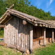 Viking age storage farm house in a village — Stock Photo