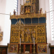 Beautiful decorated church altar — Stock Photo #9019643