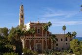 St. Peters Church Jaffa Tel Aviv Israel — Stock Photo