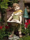 Garden gnome dwarf — Stock Photo