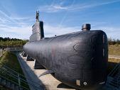 Navy Submarine — Stock Photo