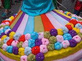 Brazil Rio samba carnival dress — Stock Photo
