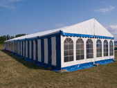 Party tent — Stock Photo